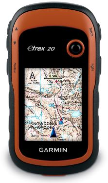 etrex 20 how to use