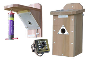 20m Wired Colour Bird Nestbox & Feeder Ultra HI-RES Camera System with Night Vision