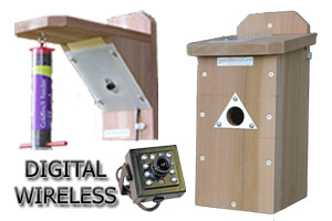 Digital Wireless Colour Bird Nestbox & Feeder Ultra HI-RES Camera System with Night Vision
