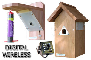 Digital Wireless Colour Bird Nestbox & Feeder HI-RES Camera System with Night Vision