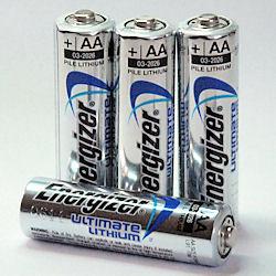 Energizer Ultimate Lithium AA Battery x4