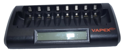 Vapex 8-cell battery charger