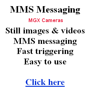 Messaging cameras