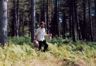 Martin Bailey, mammal specialist and lead ecologist